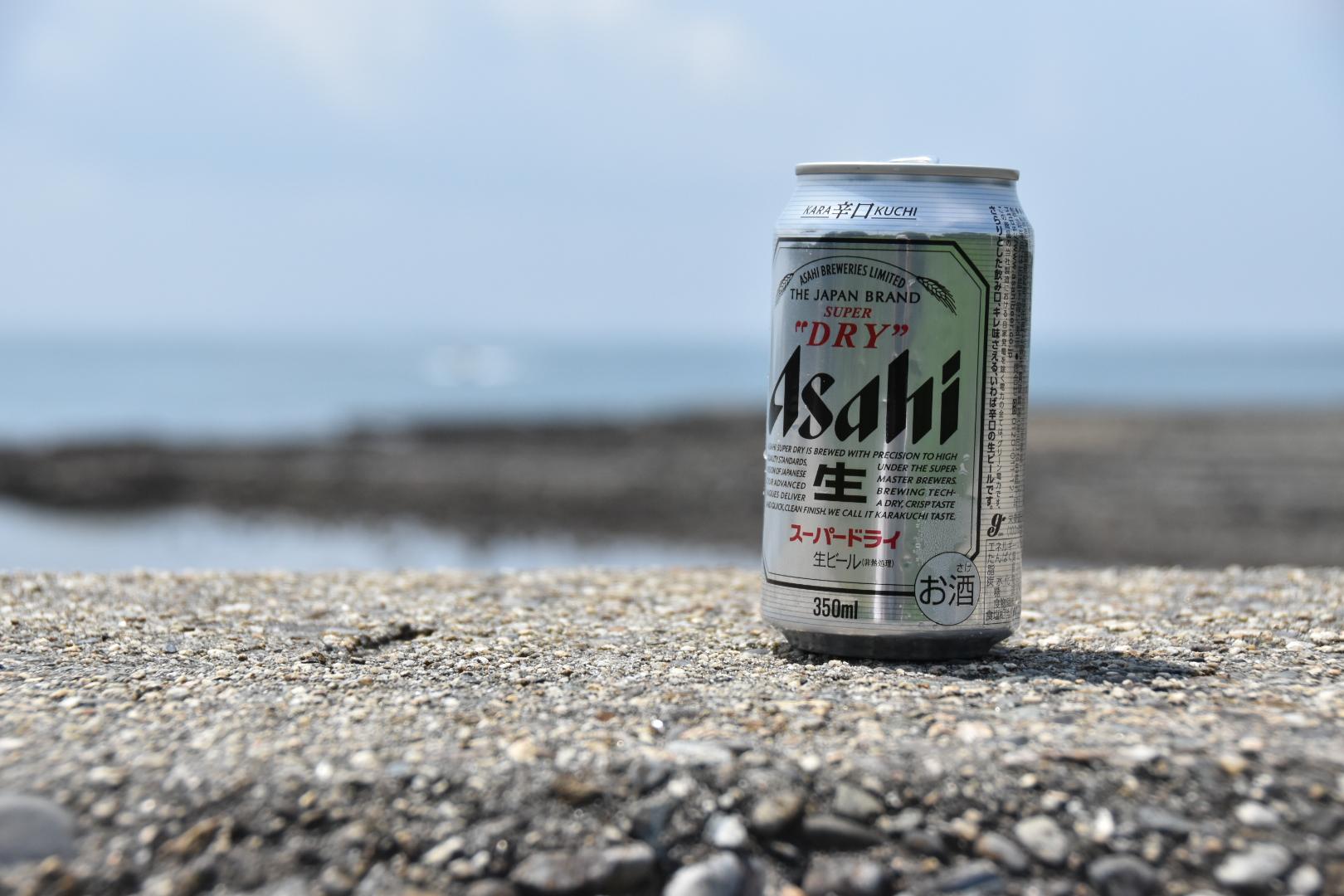 日間賀島-缶ビール-0917